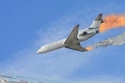 コロンビア チャーター機 墜落