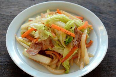 男子大学生 料理8
